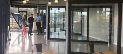 Aluminium Glazing Design Centre is an Instant Hit