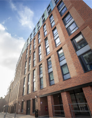 Kingfisher Windows kits out multi-million pound student complex in Derby
