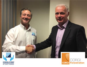 CENsolutions wins CORGI Fenestration audit centre certification