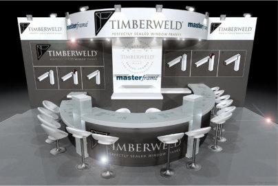 See perfect Timberweld® corners at FIT