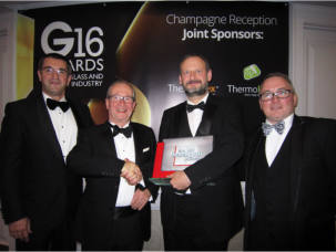 Polyframe wins big thank you award