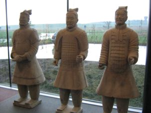 Super Spacer® heated units used to protect Chinese Terracotta Army