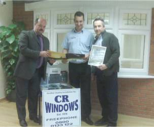 CR Windows Signs Up to Super Spacer Dealership