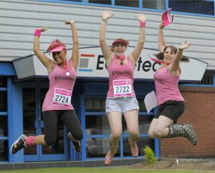 Edgetech Raises £1,589 for Cancer Research UK