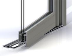 Jack Aluminium's high usage entrance door achieves 1.7 U-value