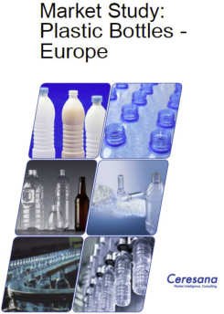 Ceresana Publishes Most Comprehensive Market Analysis: European Market for Plastic Bottles Continues to Grow