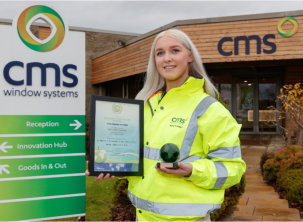 Global success for CMS with Green World Award win