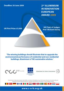 UK Aluminium in Renovation Awards 2009