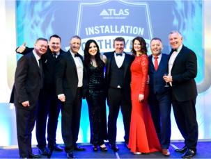 And the Atlas installation of the year winners are