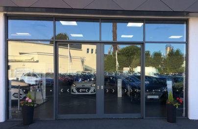 CDW Systems helps Window Service Centre hit 'Top Gear' with car showroom installation