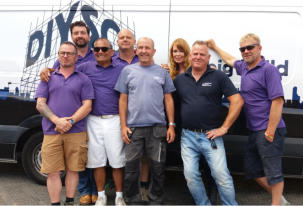 DIY SOS programme featuring Conservatory Outlet products  supplied and fitted by Hazelmere will be broadcast -  9pm BBC One Thursday 15th June
