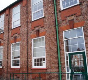 Total Glass PVC-U windows improve two schools