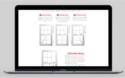 New website provides another outlet for Roseview's sash window passion