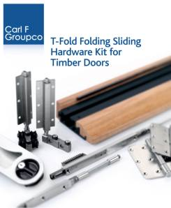 Carl F Groupco T-Fold makes life easy for manufacturers