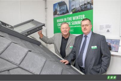 BWM showroom showcases LEKA roofs from Modplan