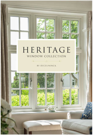 Look what's arrived……The Heritage Window Collection by Deceuninck