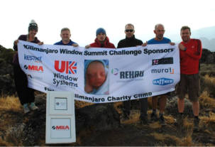Fenestration team trek up Kilimanjaro