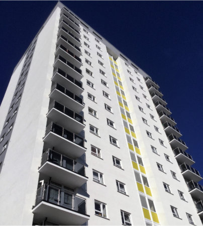 Optima windows and doors from Profile 22 help transform two Walsall tower blocks