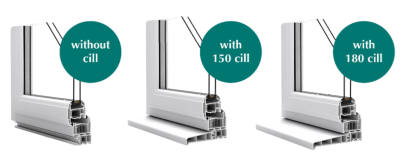 Epwin Window Systems' new universal two-part cill demonstrates how a simple product development can add a wealth of value