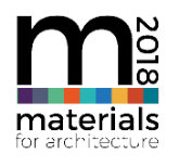 Materials for Architecture 2018