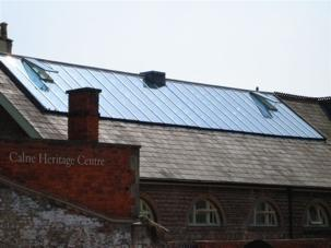 Pilkington Activ™ blue for heritage centre