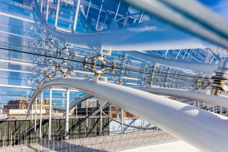 New vaulted glass roof brings sun-lit, year-round shopping to a Devon town
