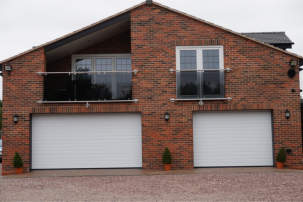 TuffX glass adds an understated finishing touch to a home in Cheshire