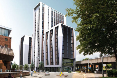 Illbruck ascends on Coventry's tallest building