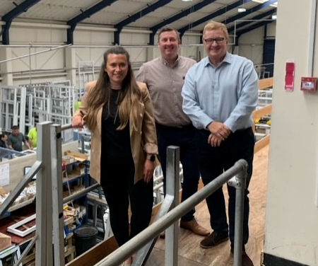 - Central Window Systems welcomes local MP Nicola Richards