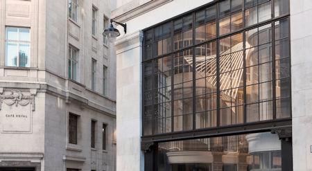 - ASWS s steel windows shine the light on award winning London arcade redevelopment as shopping starts again