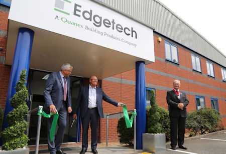 - Edgetech and Quanex mark ten years of partnership