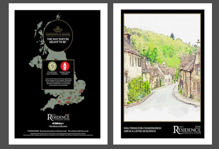 - New Residence brochure for conservation areas and listed buildings