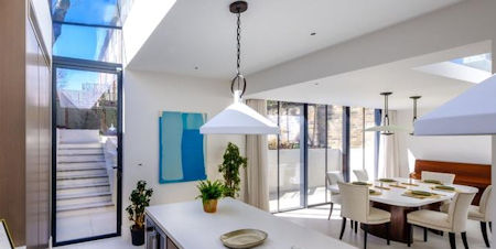 - Contemporary Extension on a Grade II Listed Home in Notting Hill