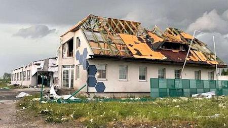 - Tornado Strikes Pellini Blinds Factory in Czech Republic