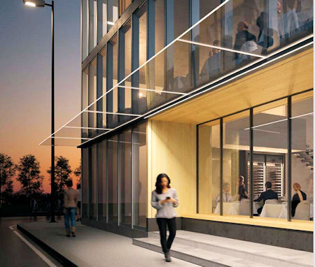 - SWISSPACER launches new premium canopy for commercial buildings