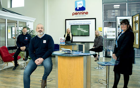 -  150 000 investment gets Pennine s new Sales Academy on its way