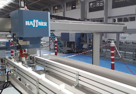 - Stocked machinery from Haffner Murat