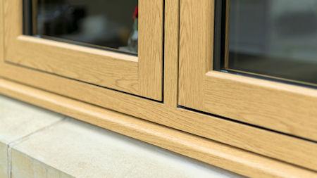 - Everglade Windows add timber look weld to Flush uPVC range