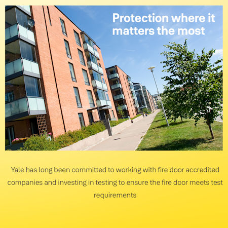 - Yale supports Fire Door Safety Week 2021