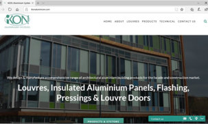 IKON Aluminium Systems – New website launch