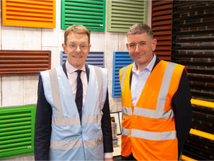 Ikon Aluminium Systems welcomes West Midlands' Mayor
