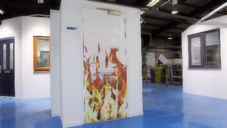 First fire doors off production line for Shelforce