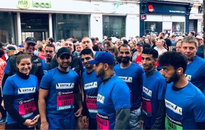 Vertik-Al hits charity fundraising target