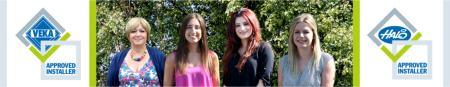 <br />Christine, Amy, Saira and Hannah