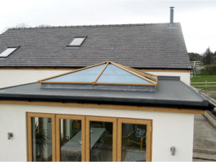 New Flat Roof Available Naked or Ready to Dress.