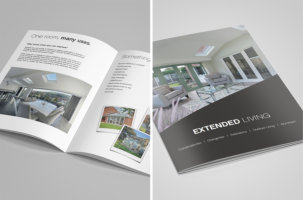 Prefix publish extended living brochure for consumers