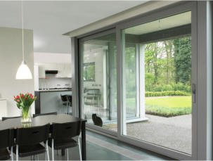 Kingfisher Windows add a new aluminium Lift & Slide Door to its range