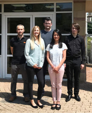 Purplex expands fantastic team with five new appointments