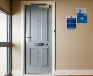 Blue skies ahead for West Port as they achieve Fire Door certification with a leading provider