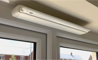 Titon's SF Xtra sound attenuating vents help to keep the noise down